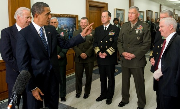Obama Gates Mullen Daylife Loeb