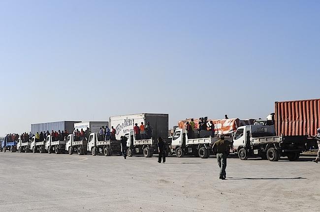 Haiti convoy van Agtmael 1.jpg