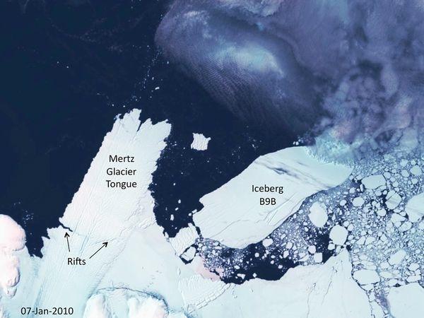 * Giant Iceberg Headed for Trouble