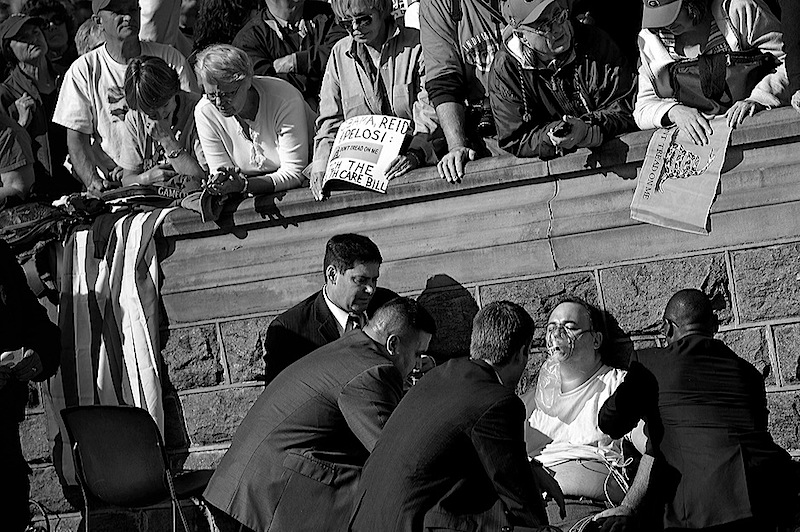 hip Somodevilla's first prize-winning White House News Photographers Assn winning photo.