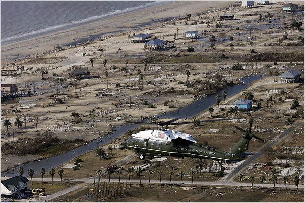 Bush Hurricane Ike