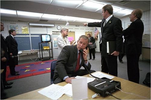 Bush-911-Booker-Elementary
