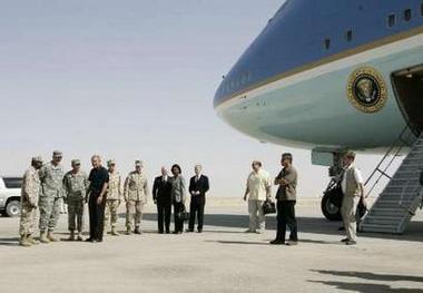Bush-Anbar-Airforce-One