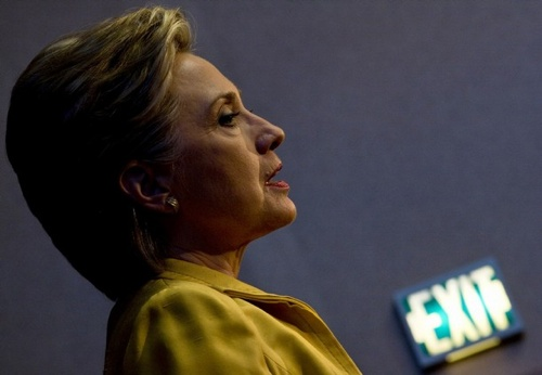 Clinton Dnc Exit
