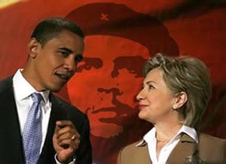 Hillary-Obama-Che