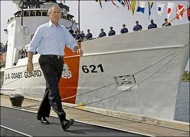 Bush-Coast-Guard