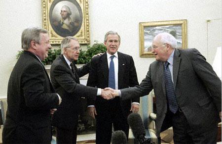 Harry-Reid-George-Bush