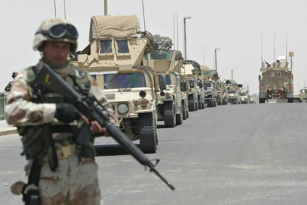 Iraqi Humvees
