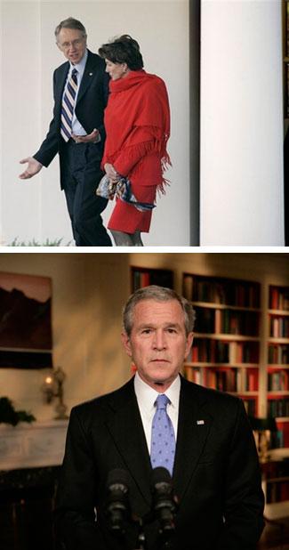 Reid-Pelosi-Bush-Speech